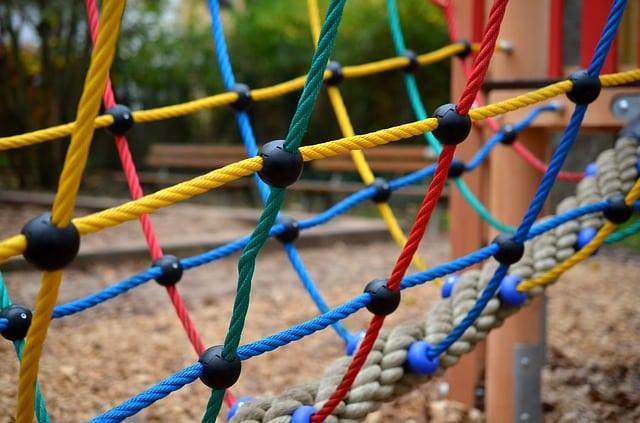 Une aire de jeux pour enfant