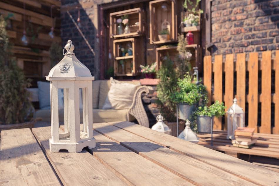 mobilier de jardin en bois