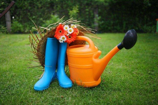 bottes de jardin