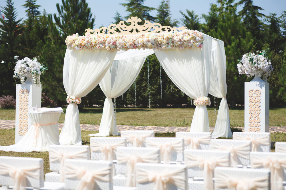 Tente de mariage