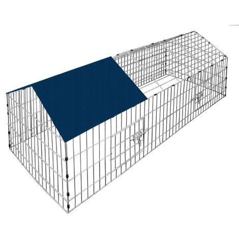 cage enclos lapin le meilleur avec pare soleil