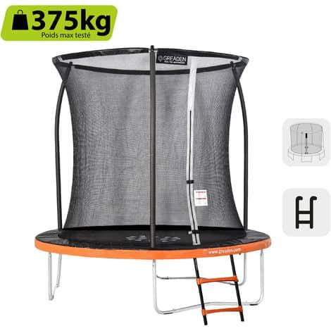 Un des meilleurs trampoline : Greaden