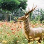 Quelle matière privilégier pour les animaux déco du jardin ?