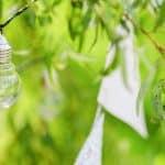 Idées pour décorer votre jardin avec des guirlandes lumineuses d'extérieur
